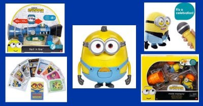 feature 5 must have minions toys