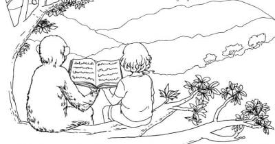 feature jenny coloring page.