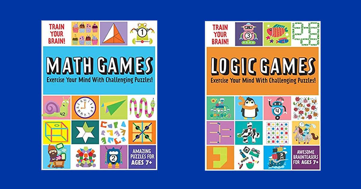 logic and math game books.