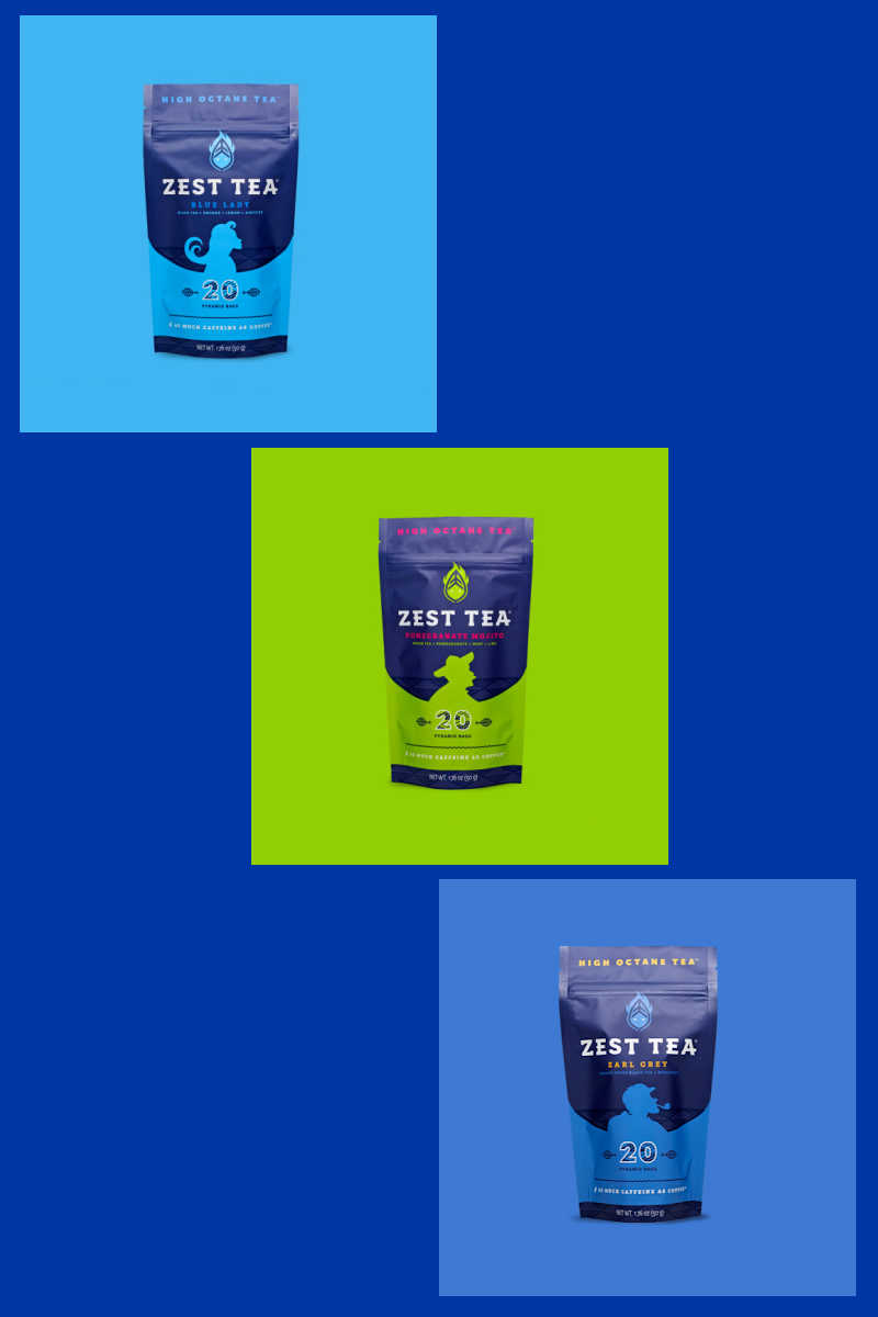 When you want a high octane energizing cup of tea that tastes absolutely amazing, Zest Tea is the one to add fuel to your day!
