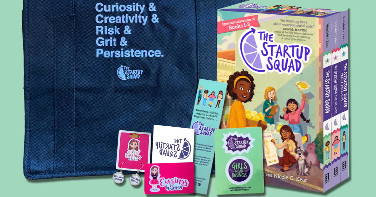 startup squad prize package.