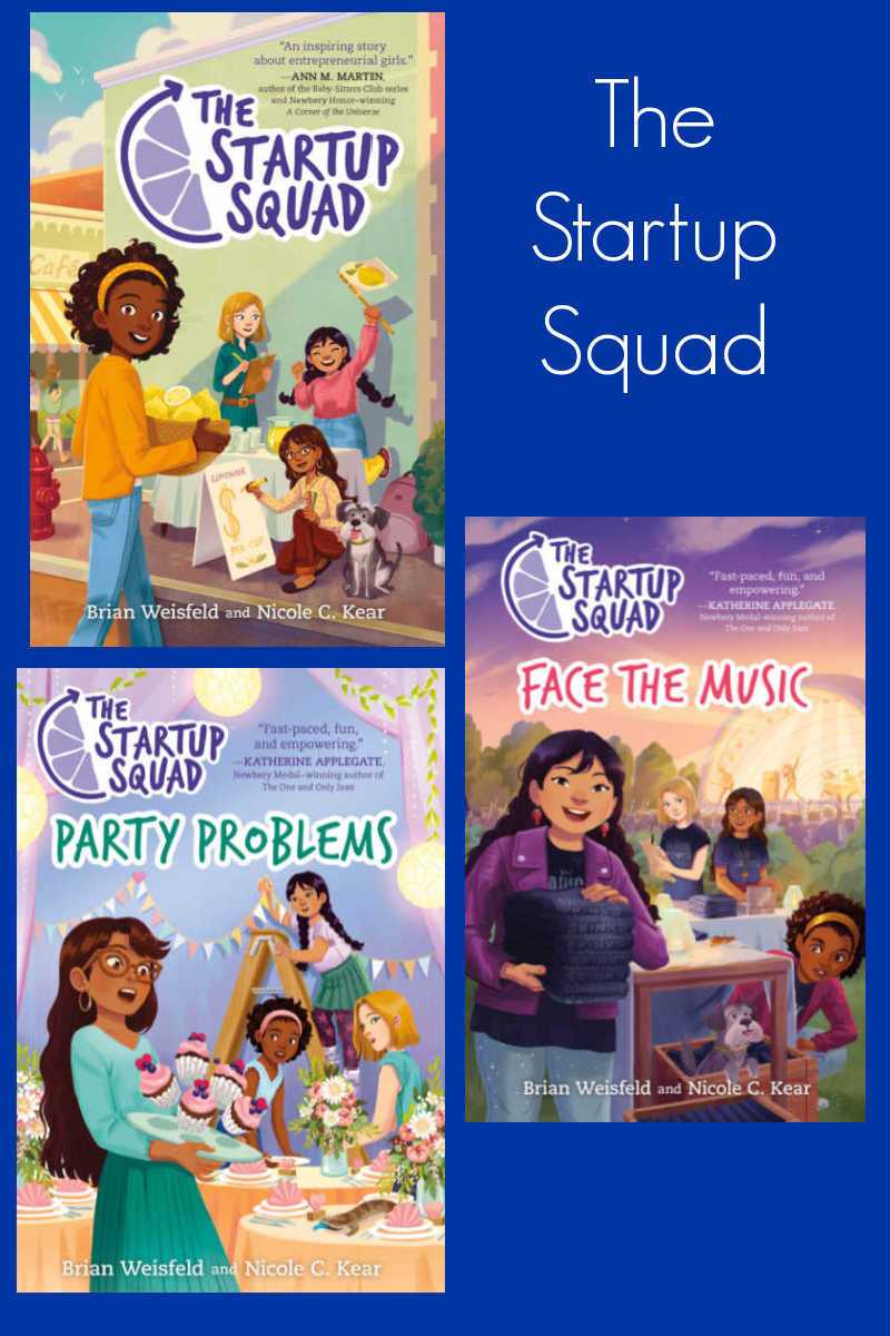 The Startup Squad books can inspire your child to become an entrepreneur or they can just be good entertainment.