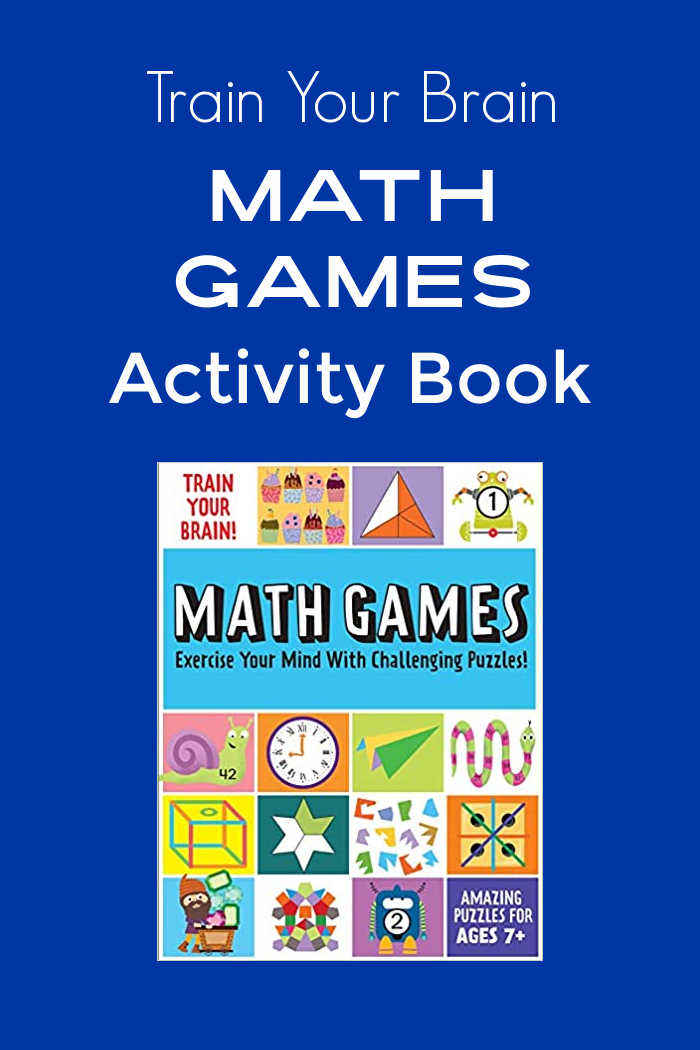 Learning can be a whole lot of fun, when your child has a Math Games for kids activity book to exercise their mind.
