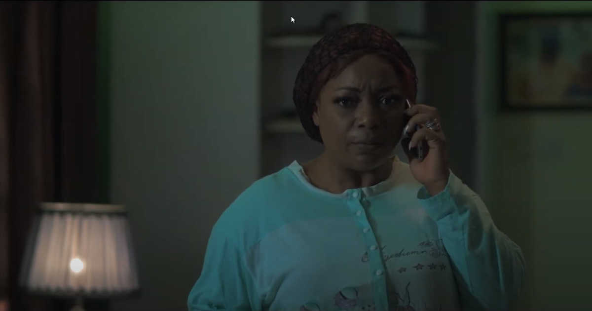 woman on phone - last request movie.