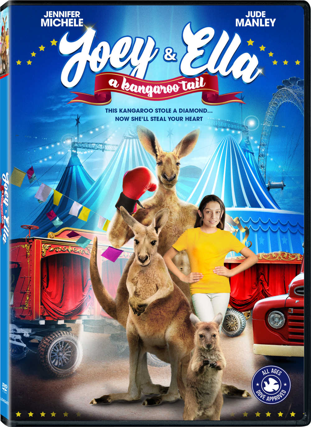 Watch the new Joey and Ella DVD movie, when you want an exciting and fun family friendly adventure with a whole lot of heart.