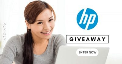 July 2021 HP Gift Card Giveaway