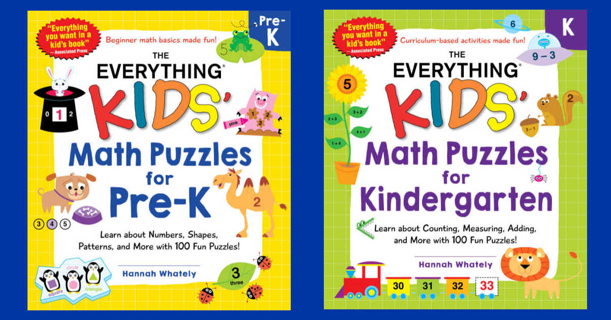everything kids math puzzles