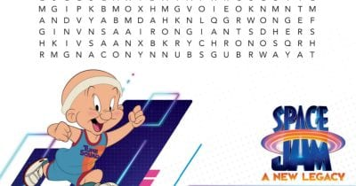 feature space jam word search