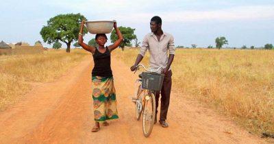 ghananian woman and man