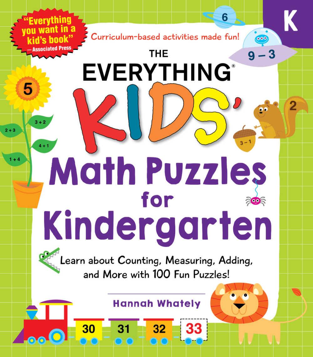 kindergarten math puzzles