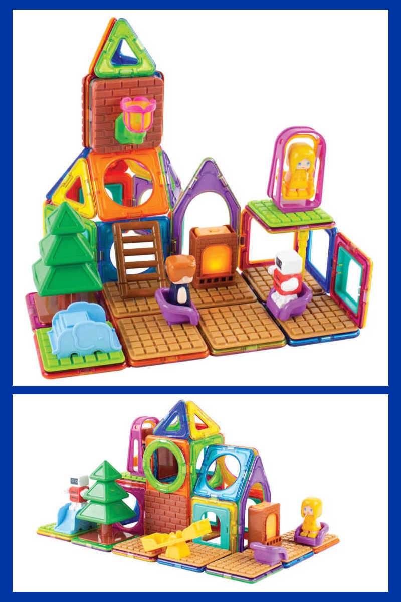 The Magformers Adventure Set is an excellent choice, when kids want a creative building toy that is fun and helps develop good skills.