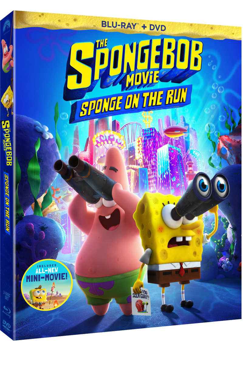 Get ready for fun in The SpongeBob Movie, when your favorite underwater pals leave Bikini Bottom to search for Gary in Atlantic City