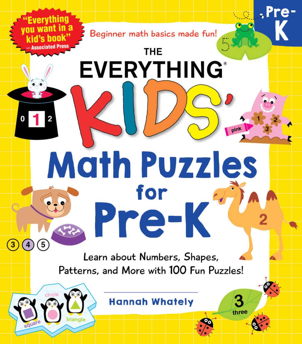 pre-k math puzzles
