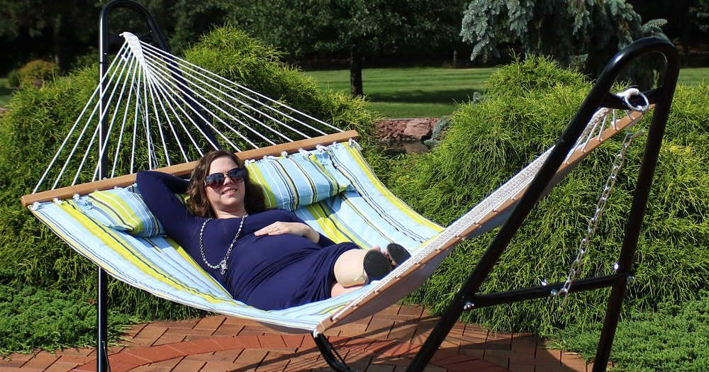 There is nothing quite like a hammock for backyard relaxation, when you want to put your feet up and enjoy fresh breezes.