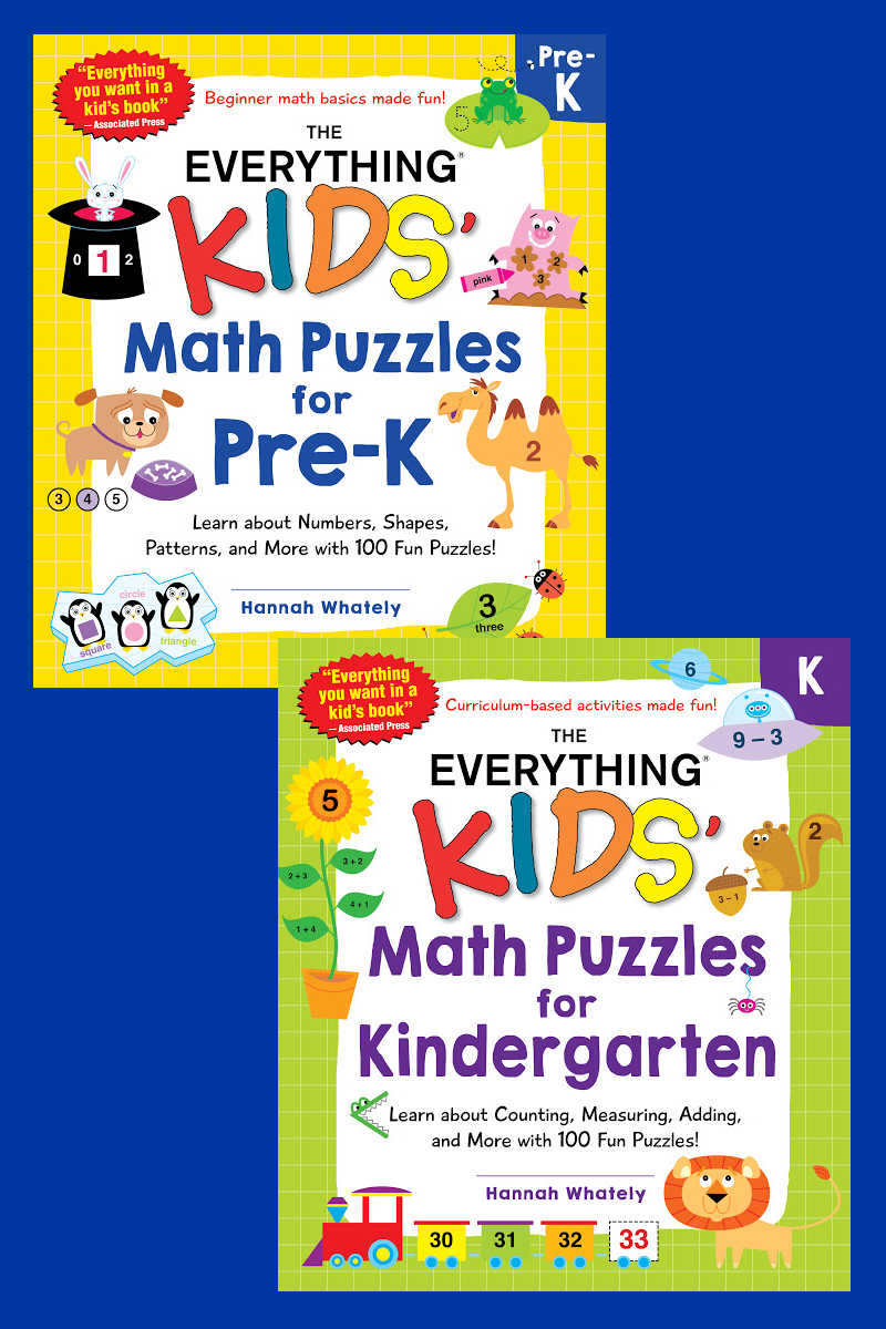Summer is the perfect time for kids to have fun with math puzzles, so their minds are prepared for the start of the new school year.