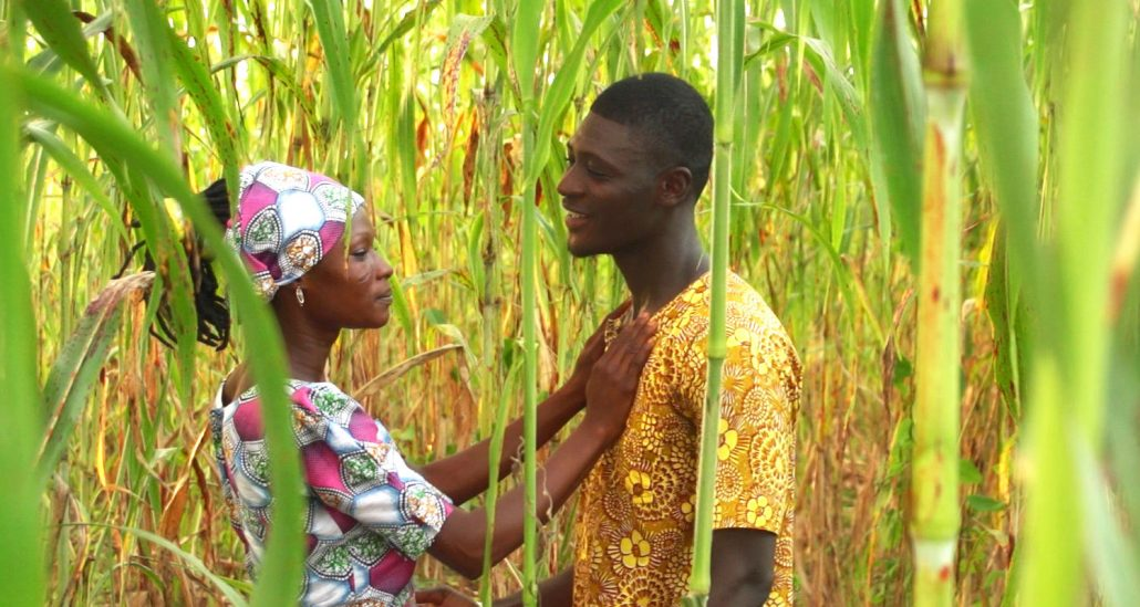 west african man and woman