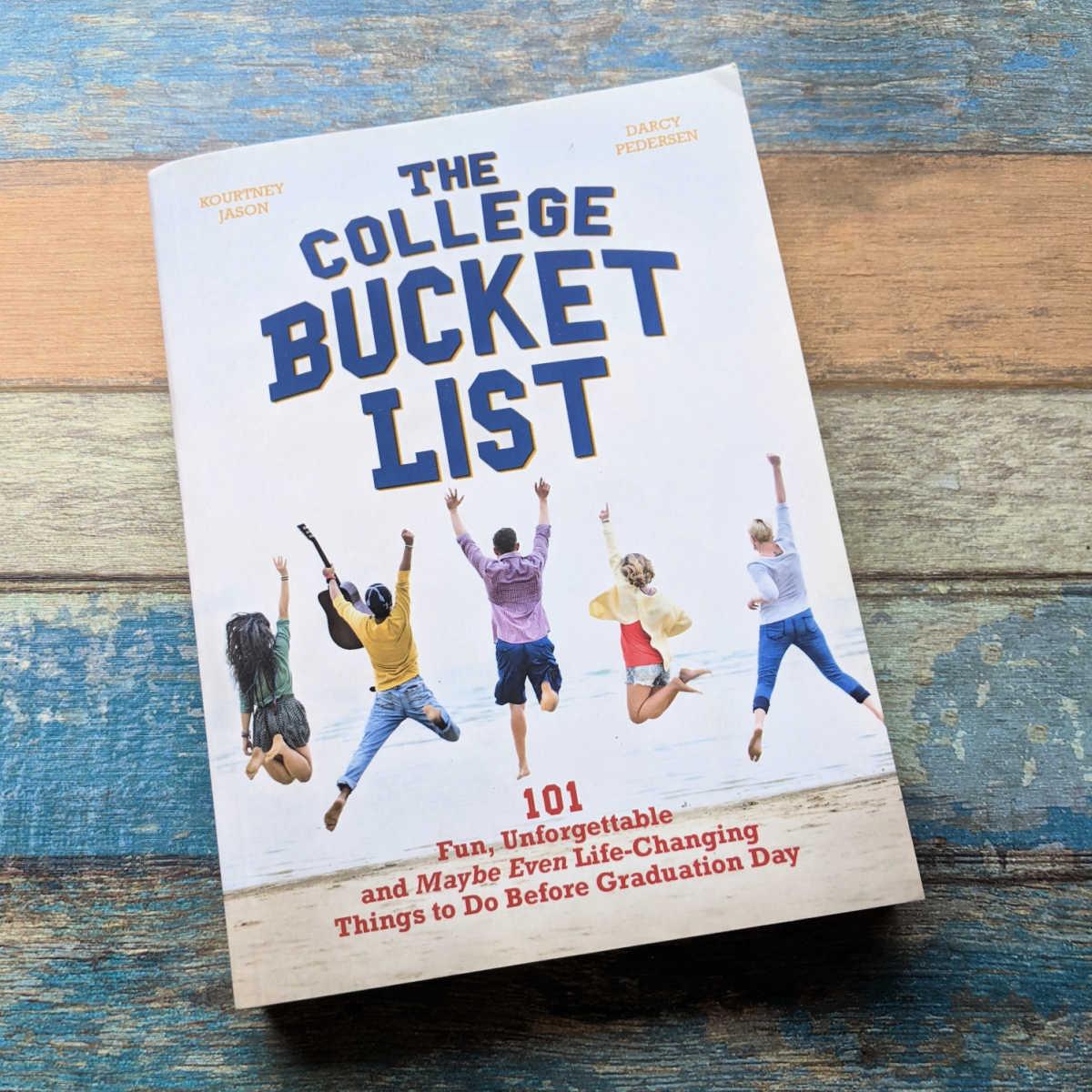 college bucket list book