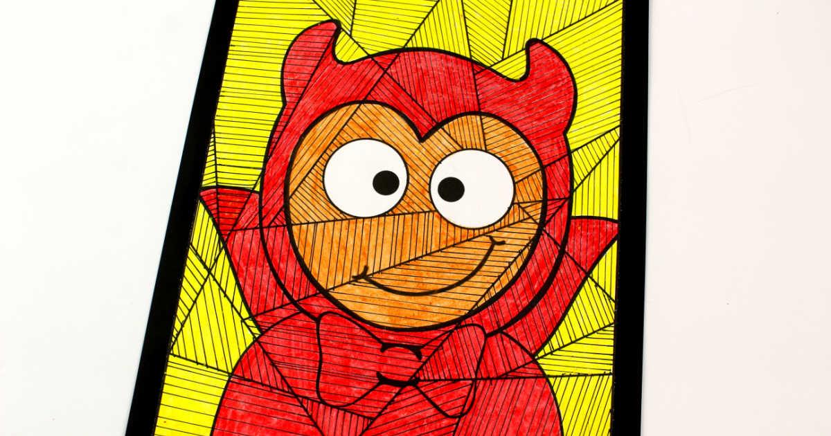 halloween devil child craft