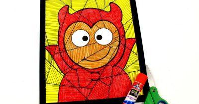 feature halloween devil child craft