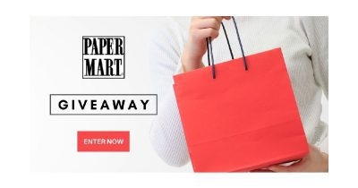 feature paper mart giveaway