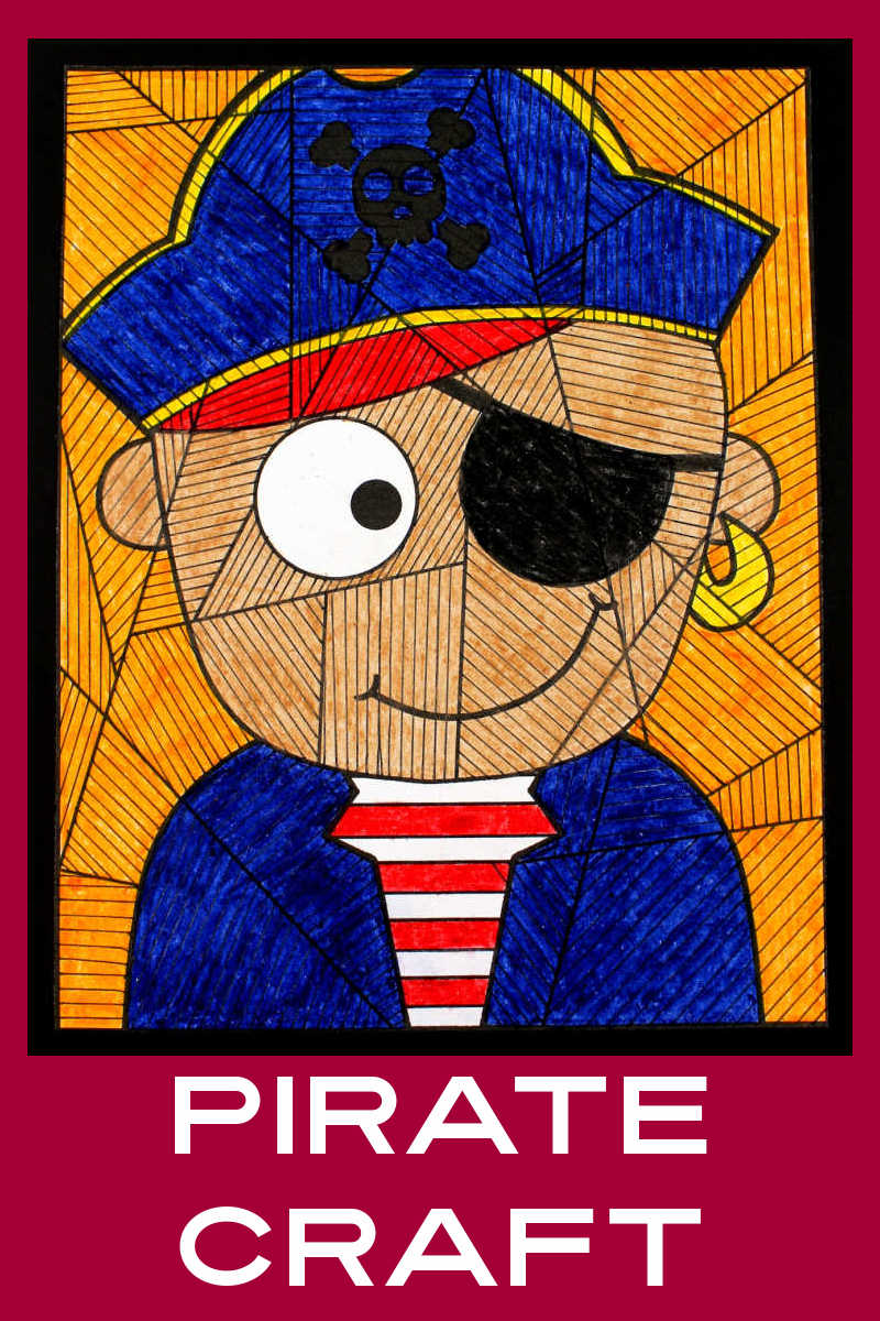 It's time to make a Halloween pirate craft that your child can enjoy anytime, but especially when we are dressing up in costumes for the holiday.