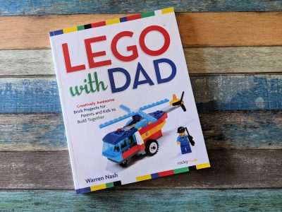 project book - lego with dad
