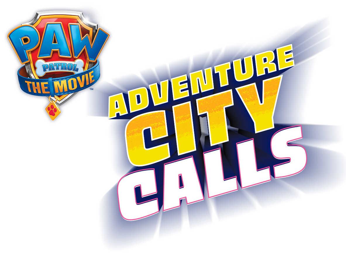 logo paw patrol adventure city calls