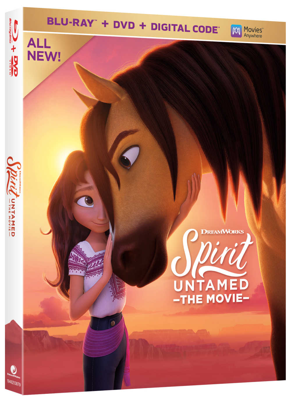 It is time to enjoy the latest adventures of Spirit, Lucky and friends, so pick up the Spirit Untamed Blu-ray, DVD & digital movie.