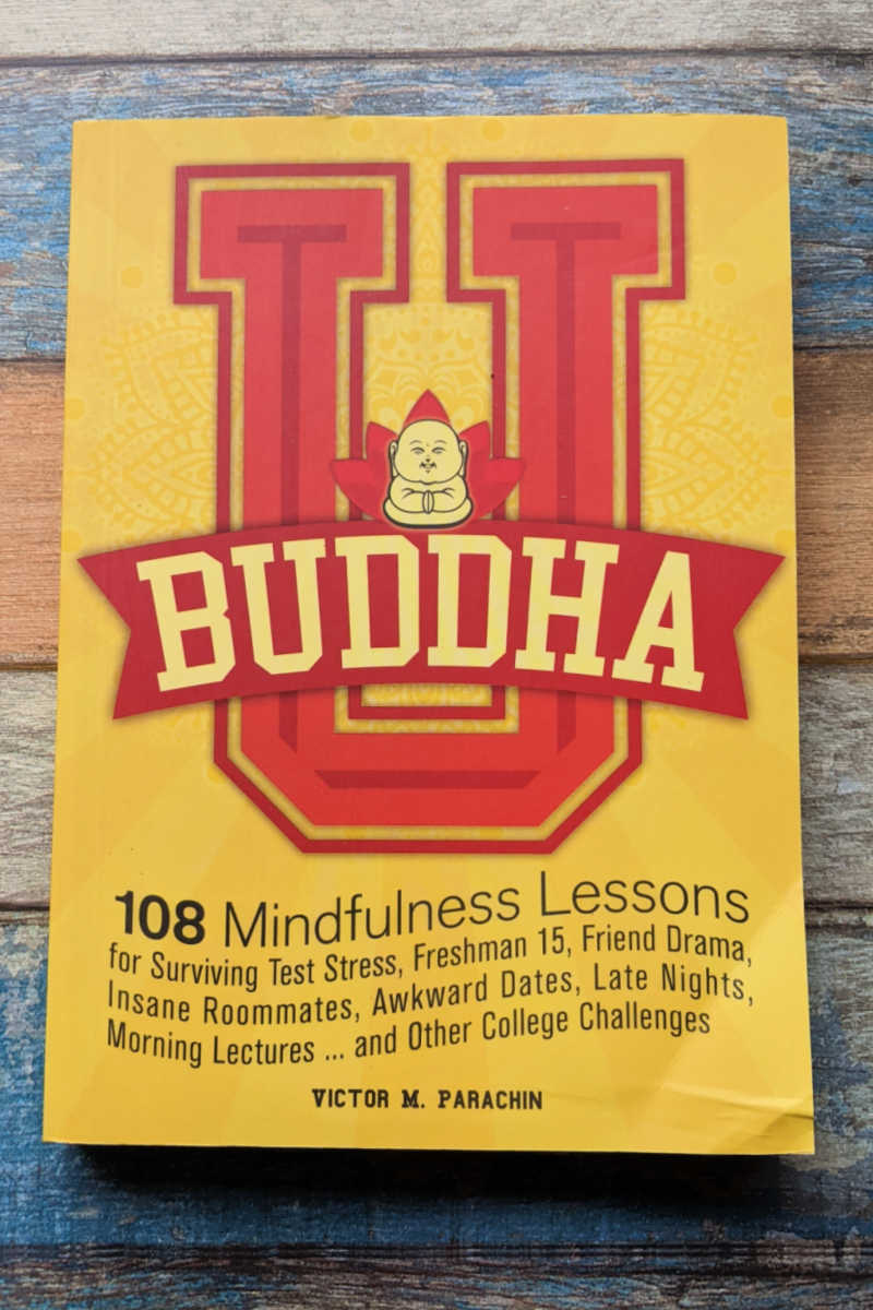 Read the Buddha U book, when you want to learn how to deal with the stresses of college life without getting overwhelmed.