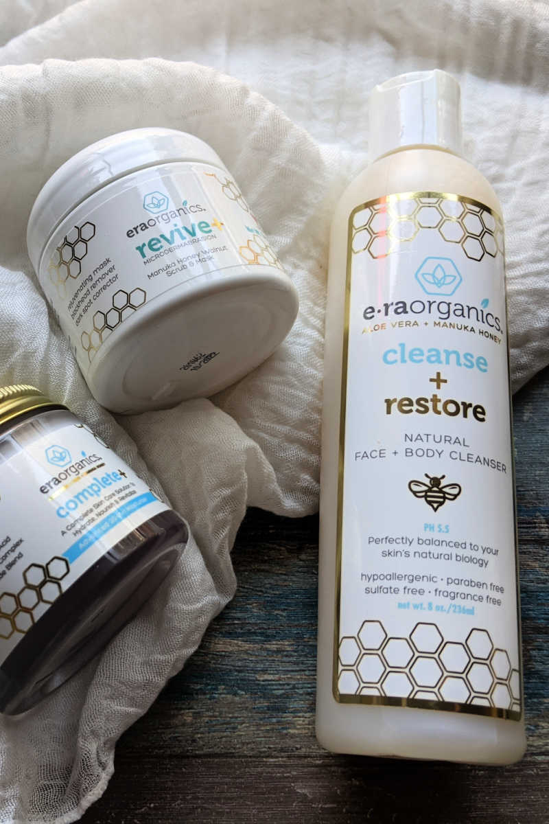 A relaxing spa day is wonderful, but the reality is that a simple and effective 3 step organic skincare routine is what works for me.