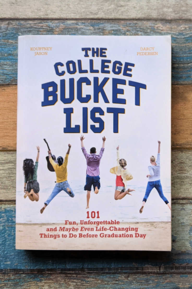 The College Bucket List book is a fun read for students, so you can plan for a memorable experience throughout your college years.