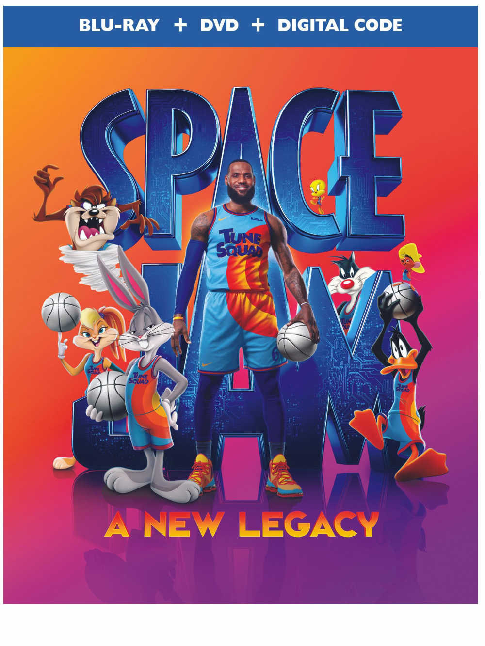 Finally, it's time to order your Space Jam 2 blu-ray, so you and your family can watch this new classic over and over again!
