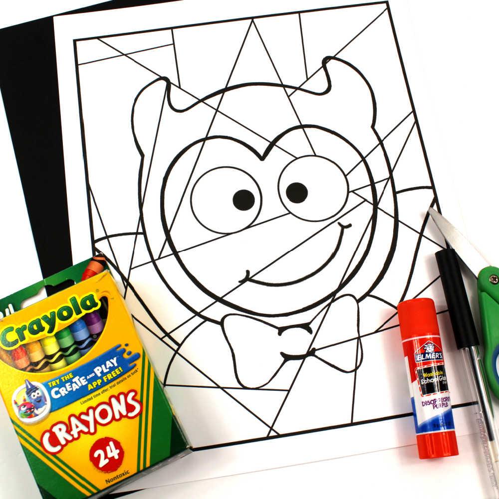 supplies for devil child craft
