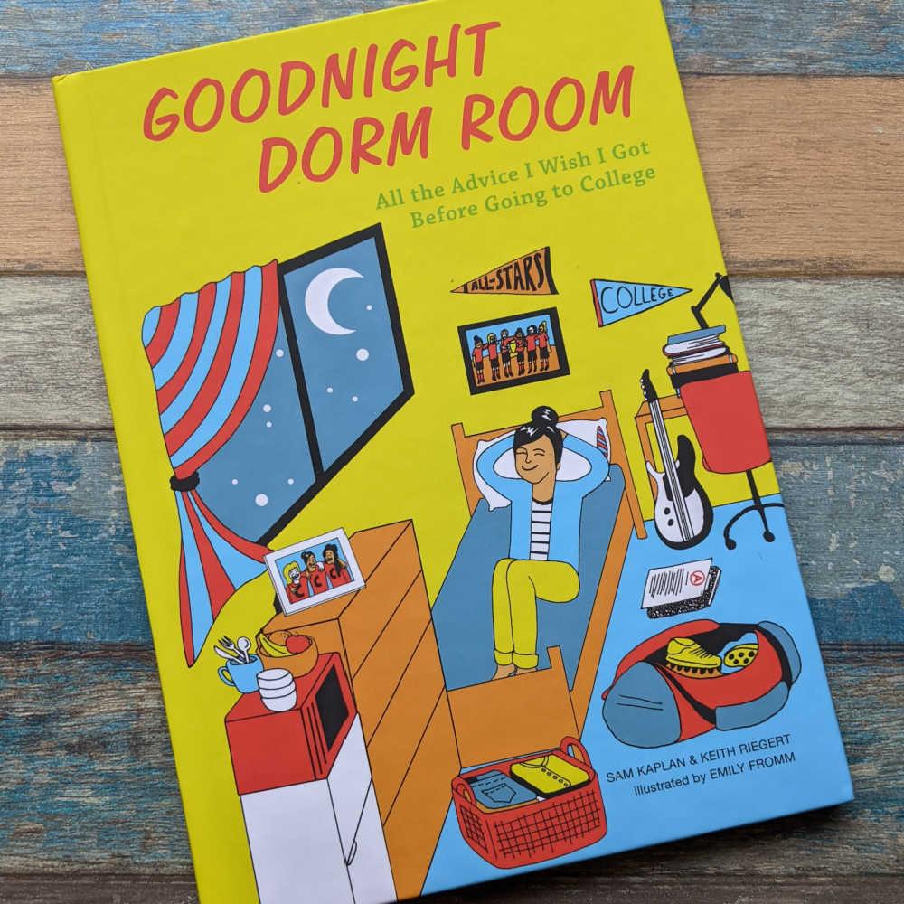 advice book - goodnight dorm room