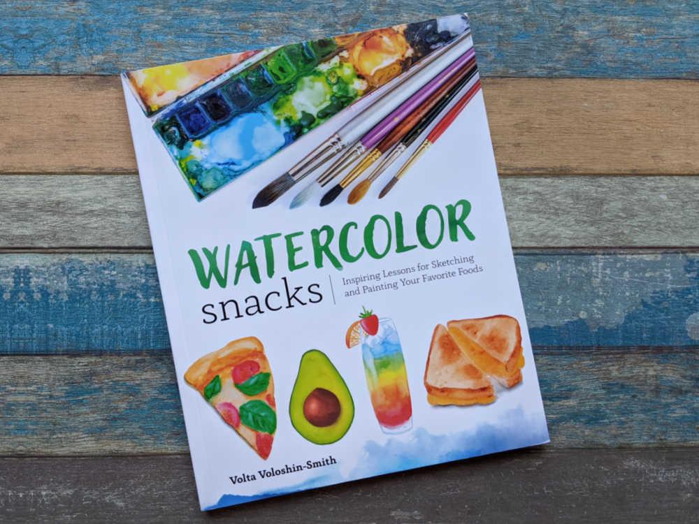 diy watercolor food art