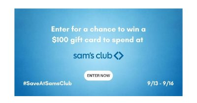 feature sams club gift card giveaway