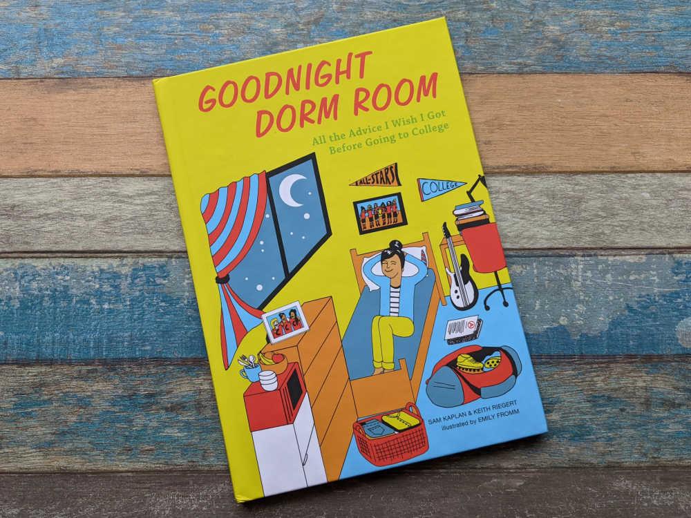 goodnight dorm room book