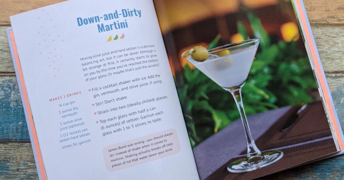 hard seltzer dirty martini