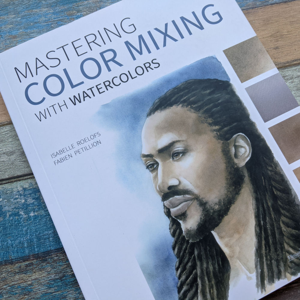 mixing watercolor paint colors