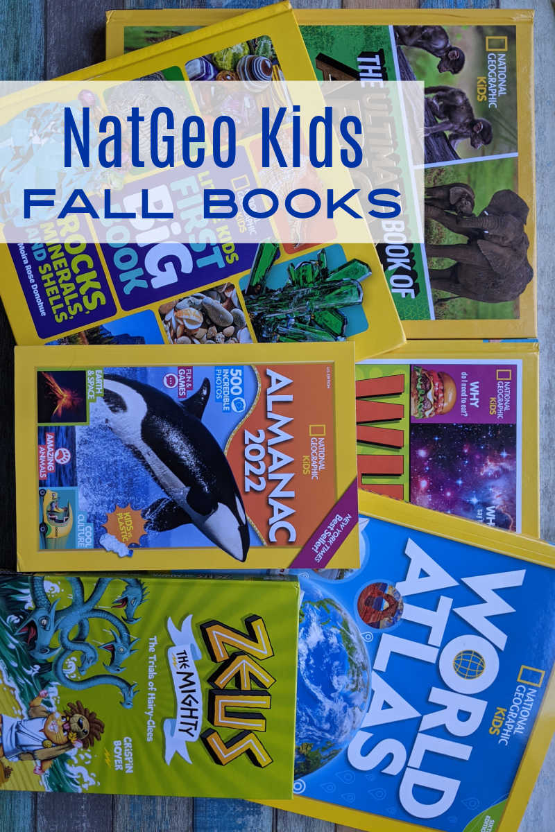 Stock up on Fall kids books from National Geographic, so that your children will be inspired to read and expand their minds.