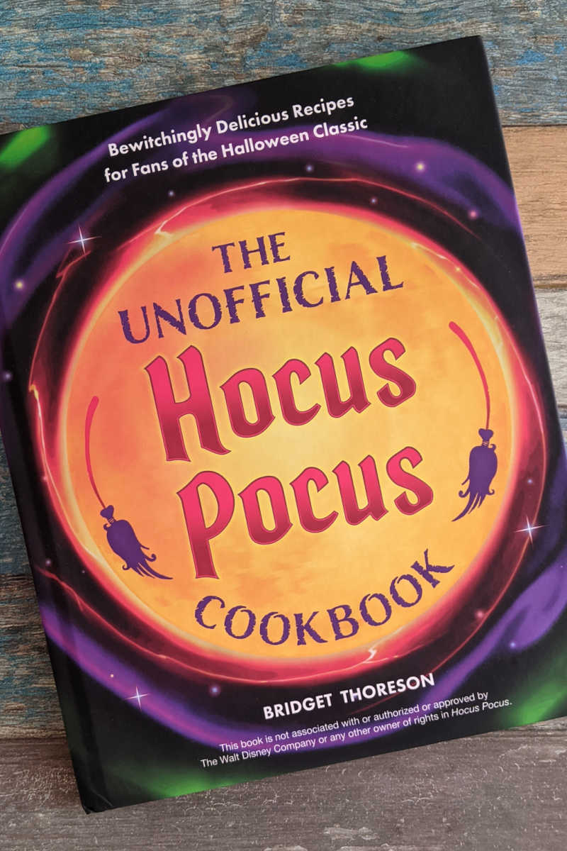 Whip up some Halloween fun in the kitchen, when you make the witchy recipes in the brand new Hocus Pocus Cookbook.
