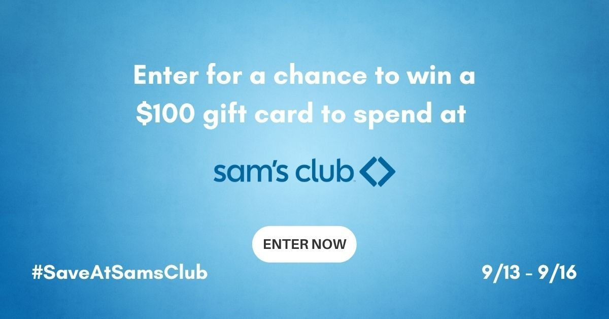 A Sams Club gift card sure would come in handy, since I know we all love the great products and brands they have in stock every day.