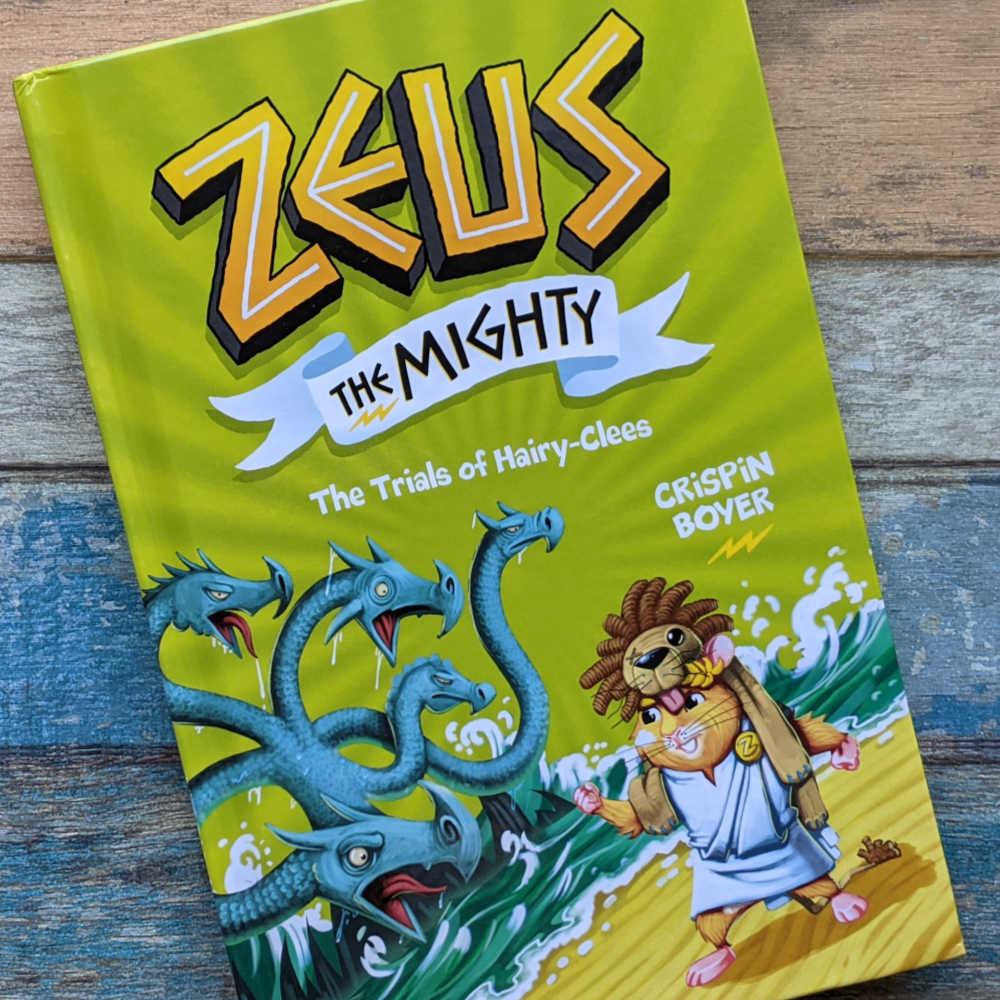 hardcover zeus the mighty book