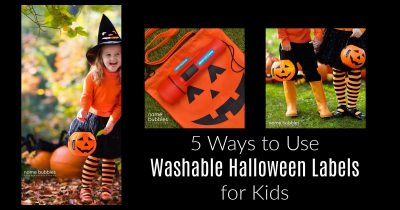 feature 5 Ways to Use Washable Halloween Labels for Kids