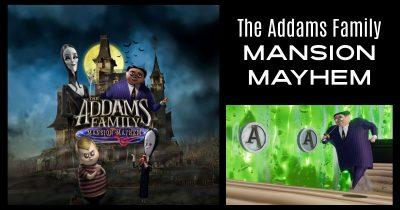 feature addams family mansion mayhem game