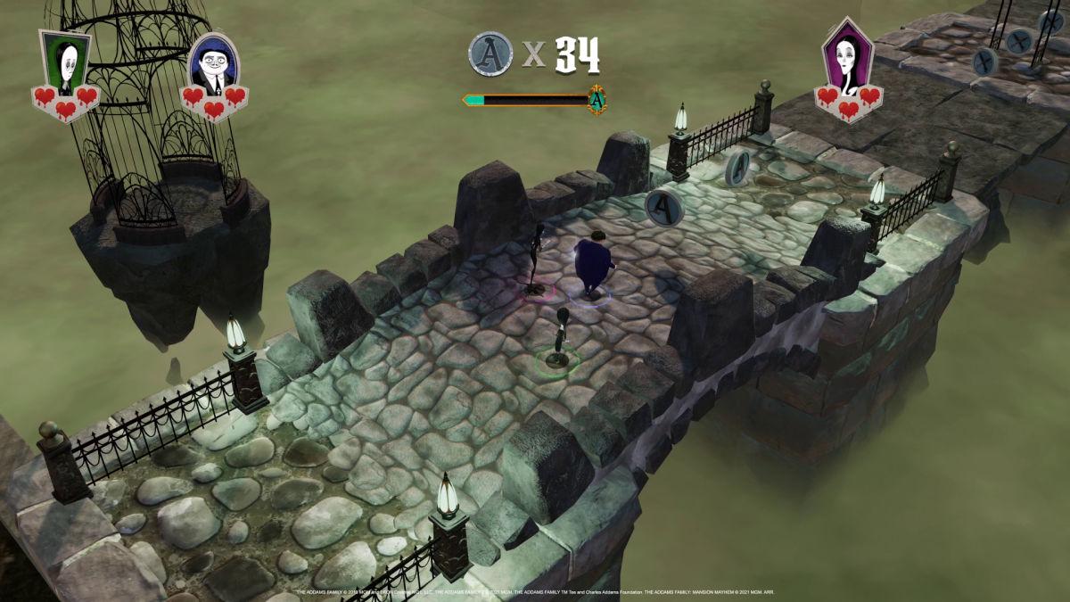 mansion mayhem video game