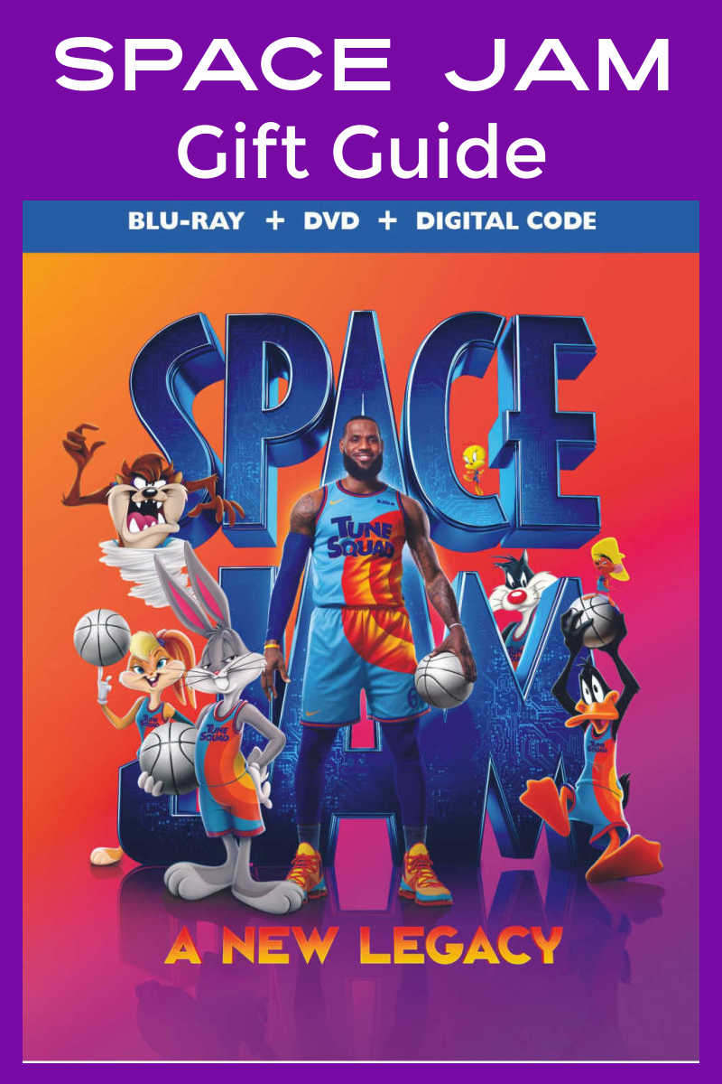 Want cool gifts for a fan that won't break your budget? Check out the Space Jam gift guide for 7 great ideas for kids and adults featuring LeBron and the Looney Tunes Tune Squad!