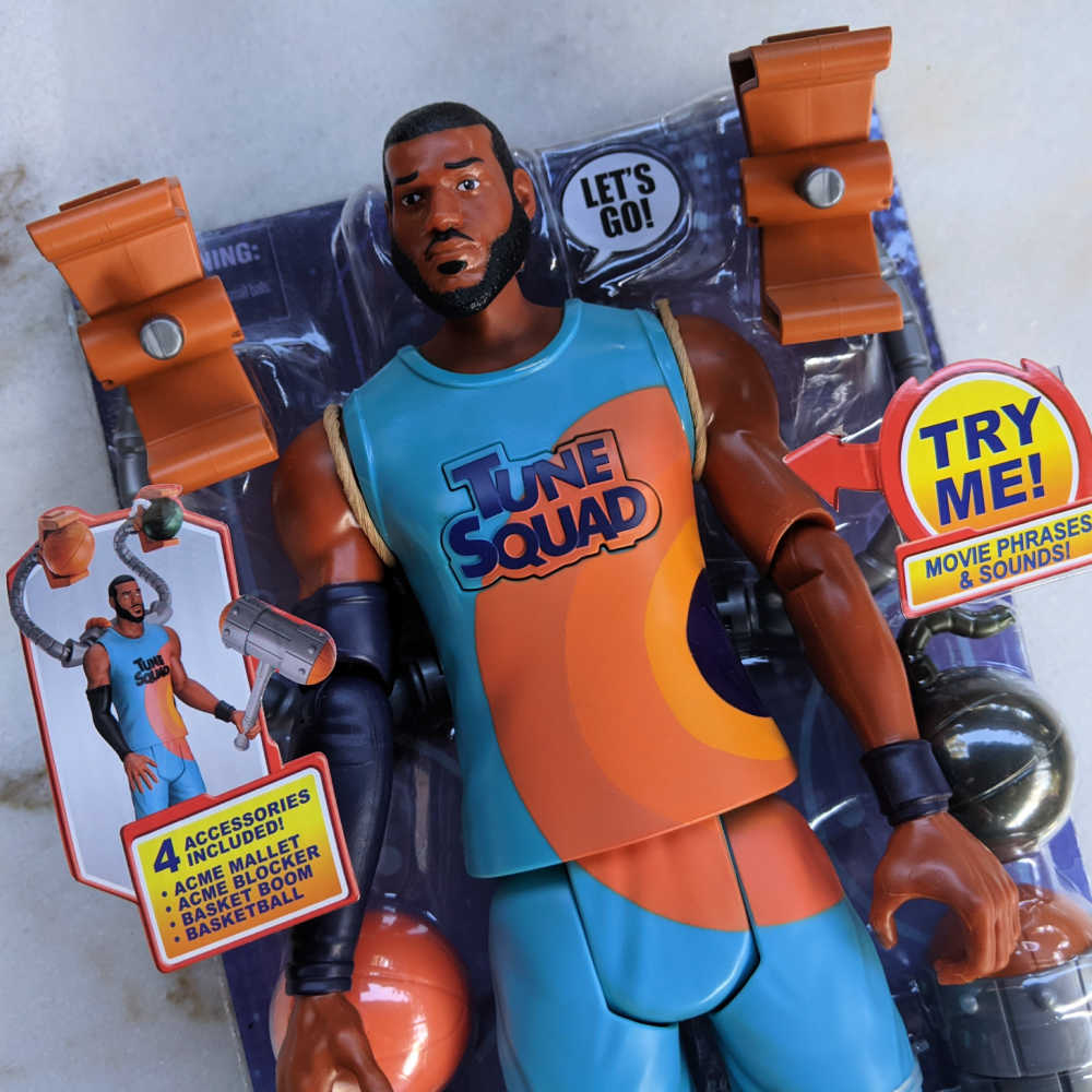 space jam lebron action figure