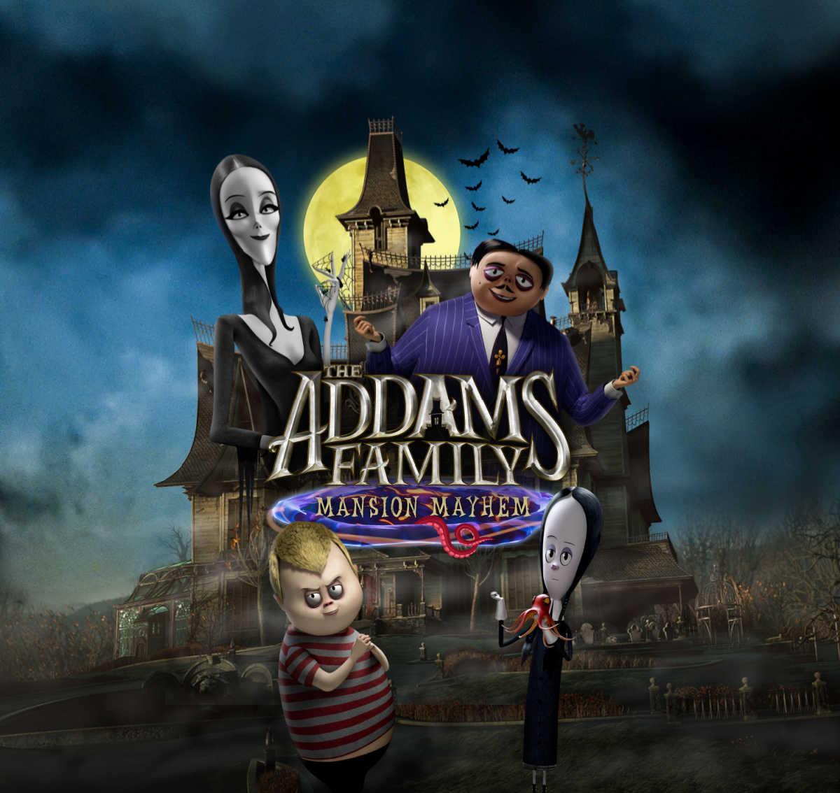 the addams family mansion mayhem game