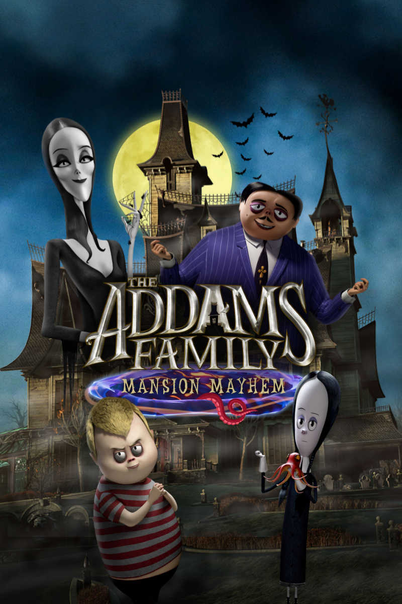 I have been a fan of these creepy and kooky characters since I was a kid, so am thrilled that I can now play the new Addams Family Mansion Mayhem game.